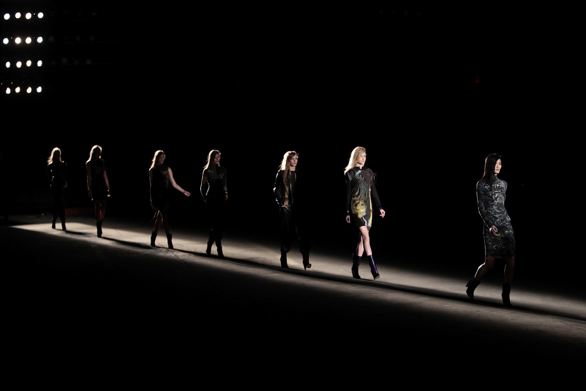 An Edun fashion show in 2012. Photo: Joe Kohen/Getty Images