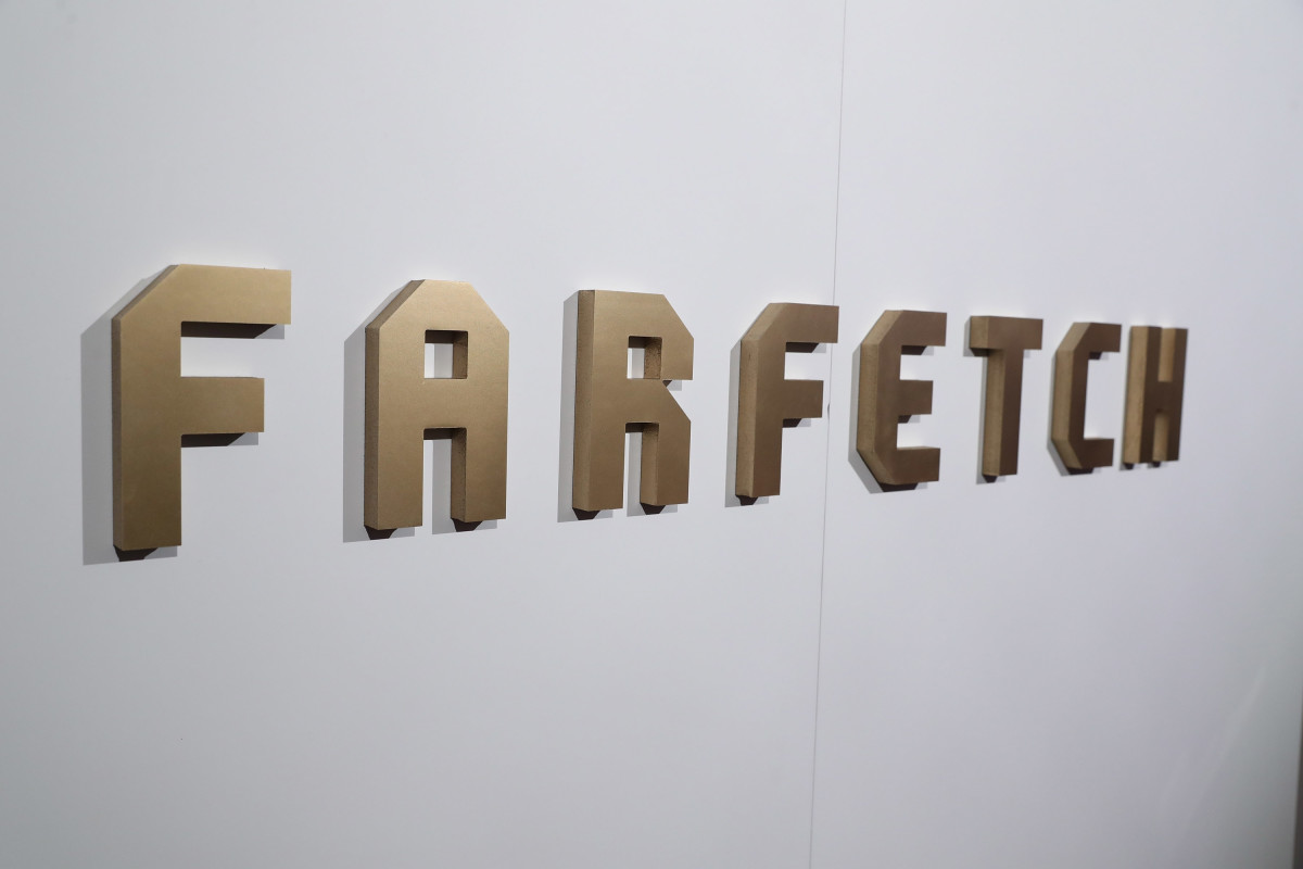Farfetch logo. Photo: Todd Williamson/WireImage