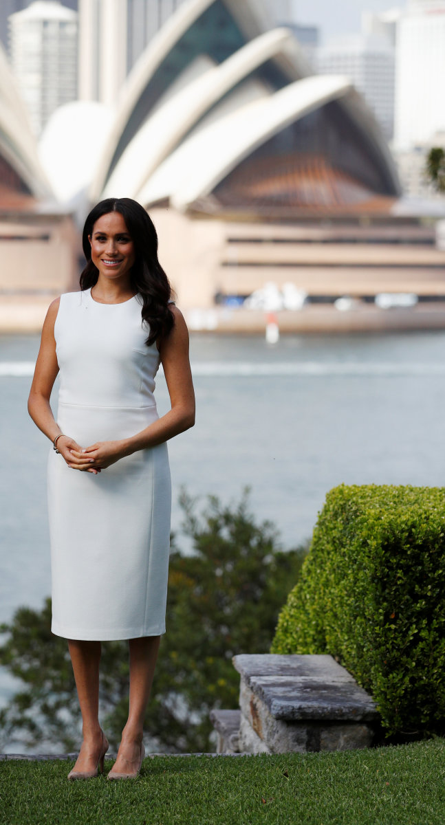 Meghan Markle in Sydney. Photo: Phil Noble - WPA Pool/Getty Images