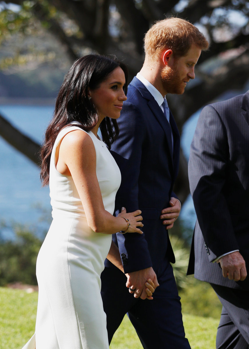 Meghan Markle and Prince Harry in Sydney. Photo: Phil Noble - WPA Pool/Getty Images