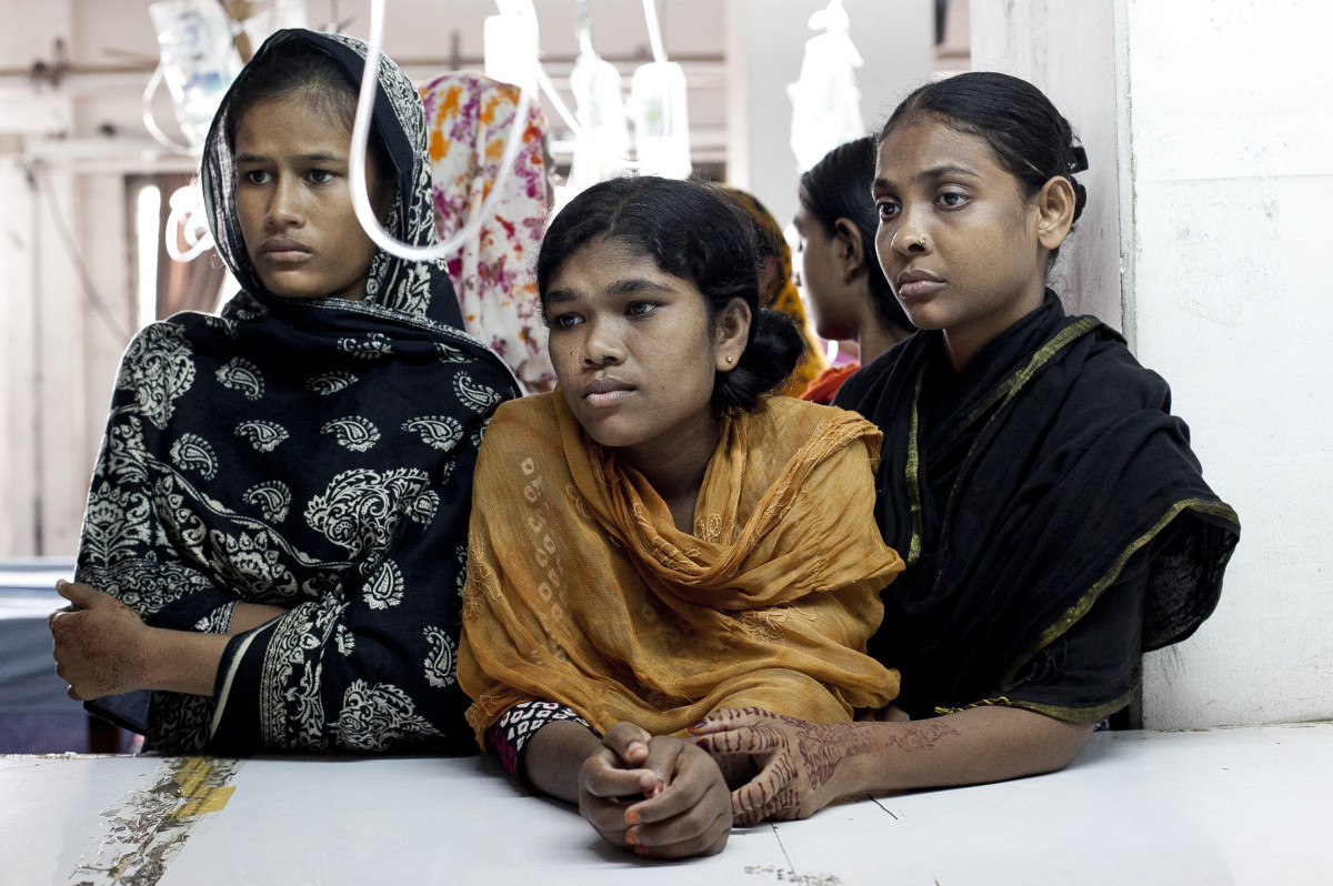 Garment workers in Bangladesh. Photo: Allison Joyce/Getty Images