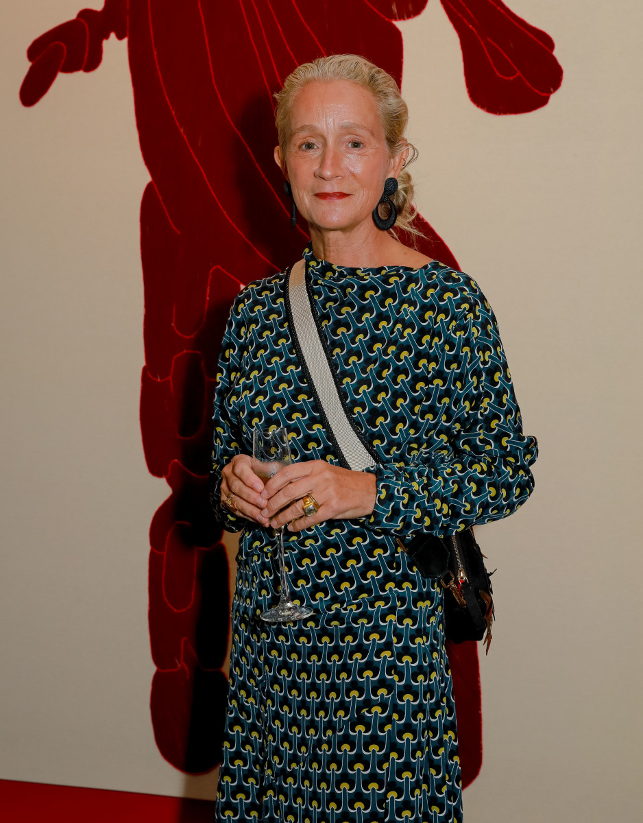 Lucinda Chambers. Photo: David M. Benett/Getty Images