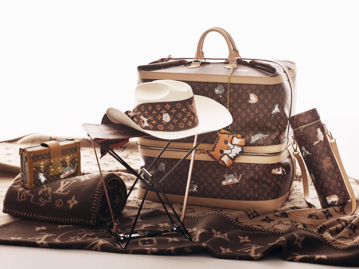 The Louis Vuitton X Grace Coddington collection. Photo: courtesy of Louis Vuittion