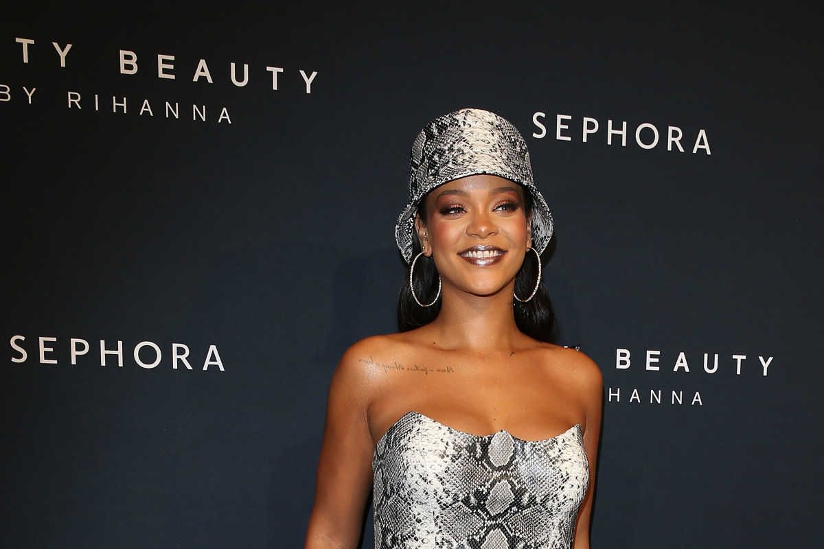 Photo: Caroline McCredie/Getty Images for Fenty Beauty by Rihanna