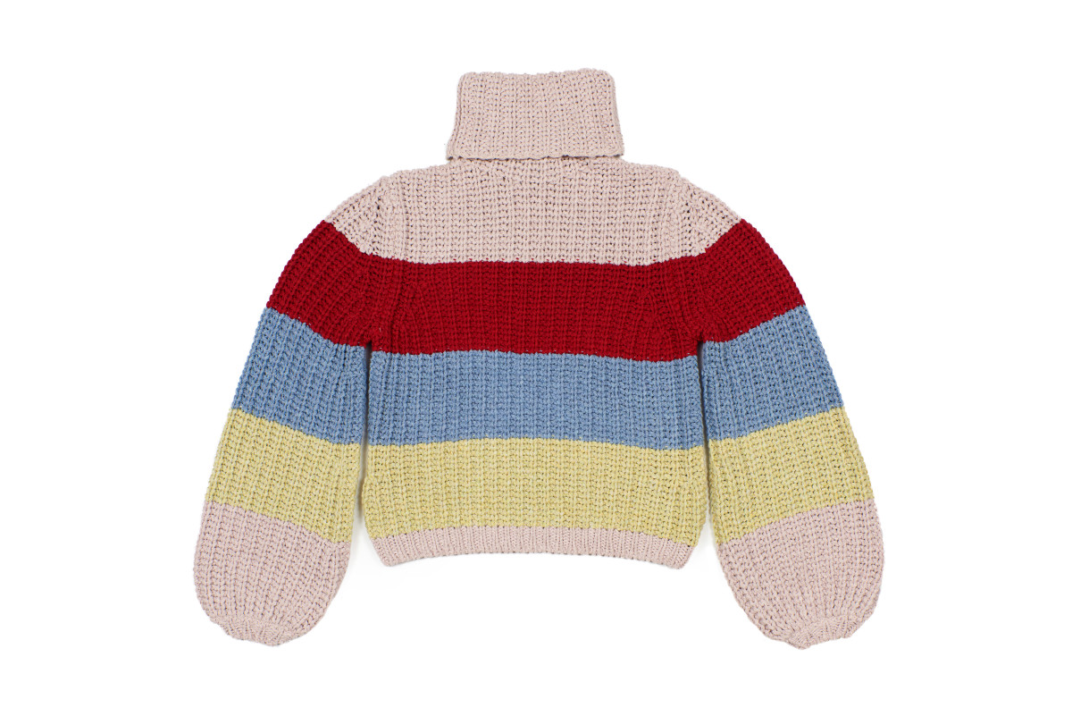 La Ligne x Reformation Color-Me-Happy Sweater, $228, available here.
