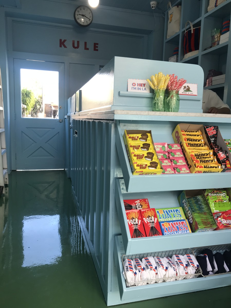 Kule at Brentwood Country Mart. Photo: Courtesy of Kule