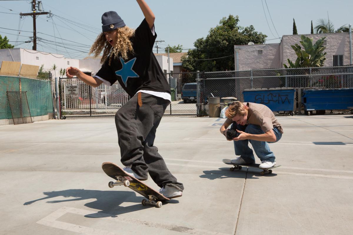 Olan Prenatt and Ryder McLaughlin.Photo: Tobin Yelland/Courtesy of A24