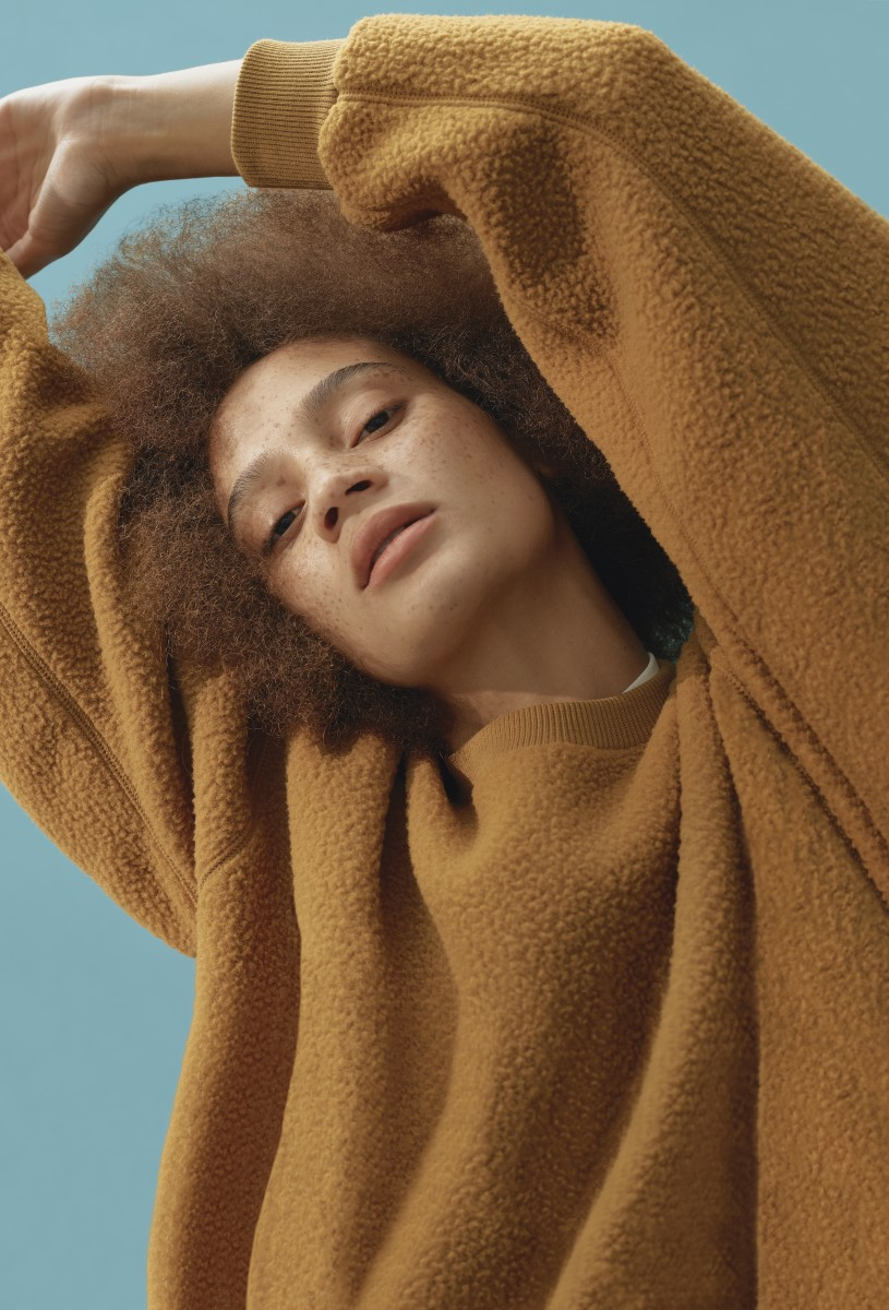 A piece from Everlane's ReNew collection. Photo: Courtesy of Everlane
