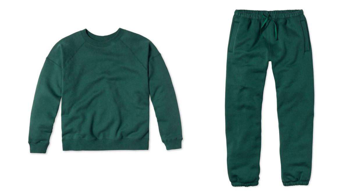 EntireworldSweatshirt Type A, Version 1, $78, available here;Pants Type C, Version 1, $78, available here.