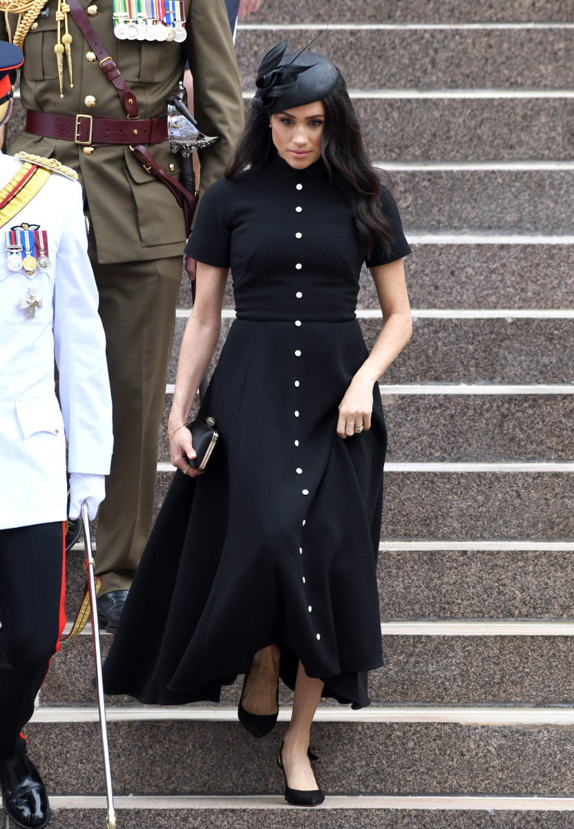 Duchess of Sussex Meghan Markle at the official opening of the extension of the ANZAC Memorial in Hyde Park in Sydney, Australia. Photo: Karwai Tang/WireImage