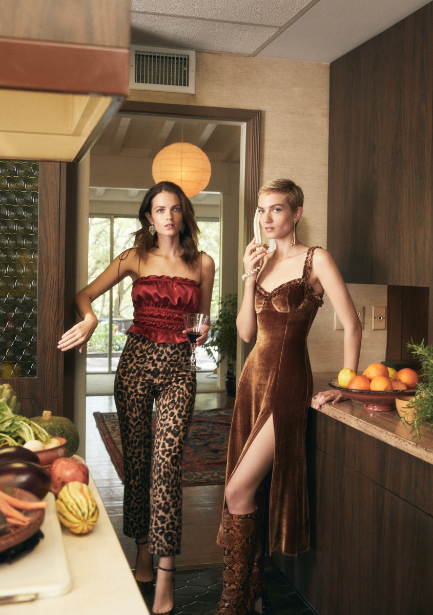 Elektra and Miranda Kilbey of Say Lou Lou. Photo: Courtesy of Reformation