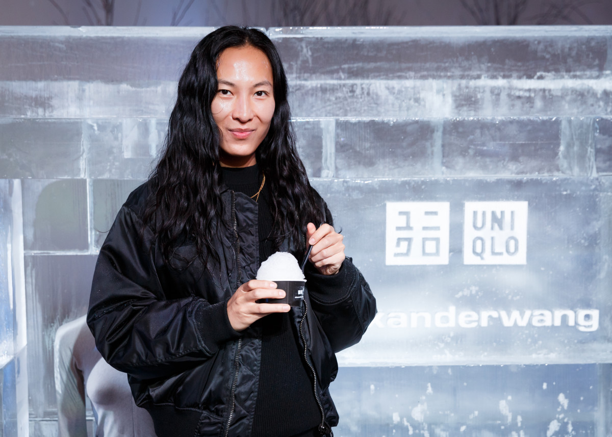 5d2b86f546937 Alexander Wang at the Alexander Wang x Uniqlo launch event. Photo  BFA
