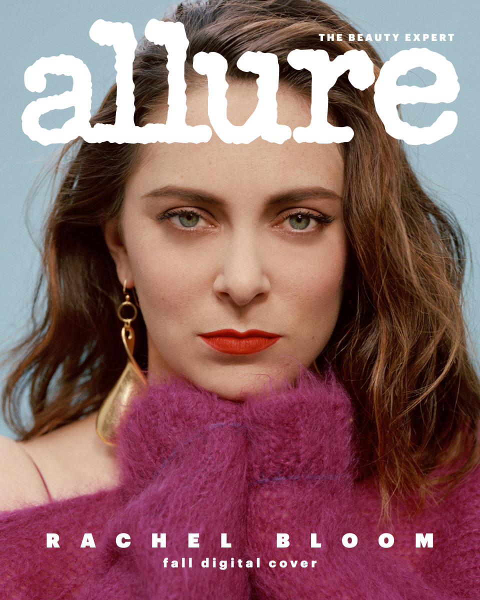 "Rachel Bloom on the fall digital cover of ""Allure."" Photo: Daria Kobayashi Ritch for Allure"