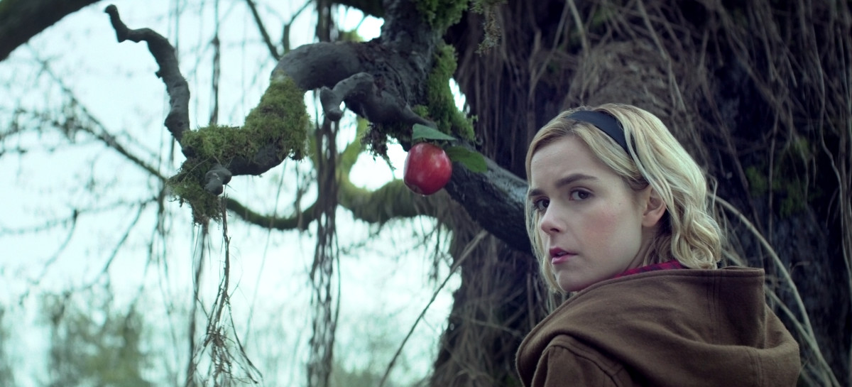 Sabrina (Kiernan Shipka). Photo: Courtesy of Netflix