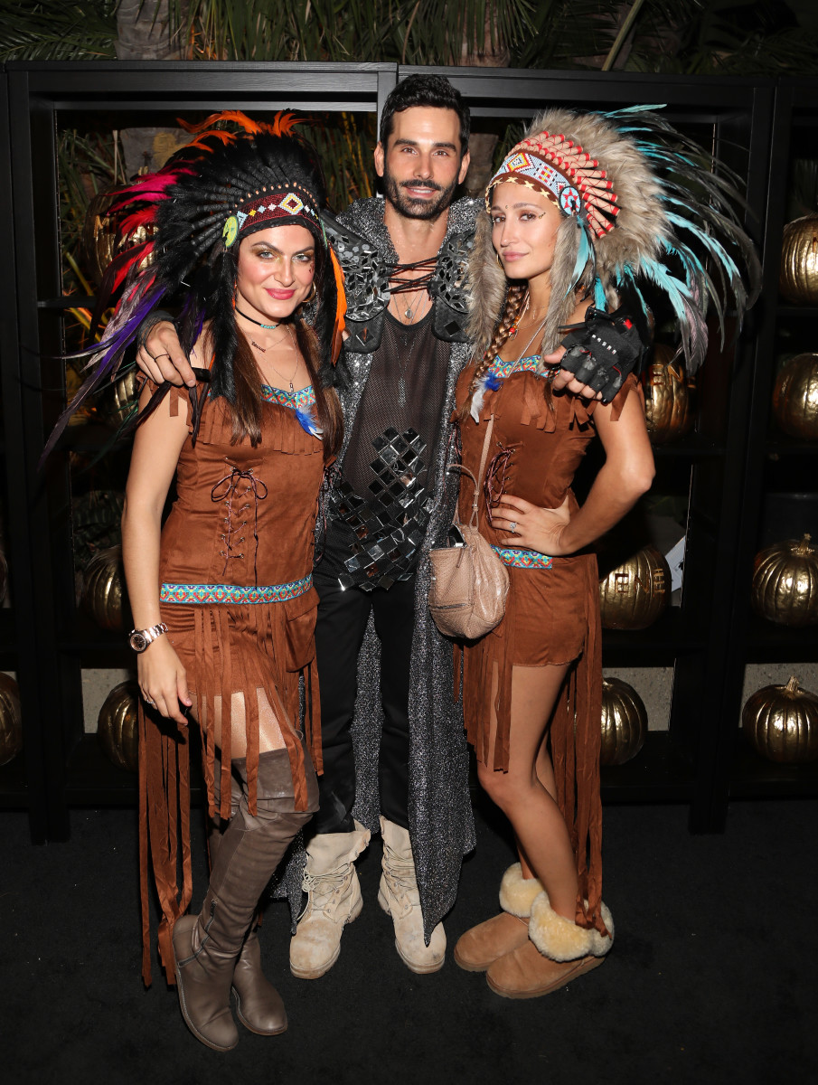 Guests at Darren Dzienciol and Alessandra Ambrosio's 2017 Halloween Bash. Photo: Jerritt Clark/Getty Images for Darren Dzienciol