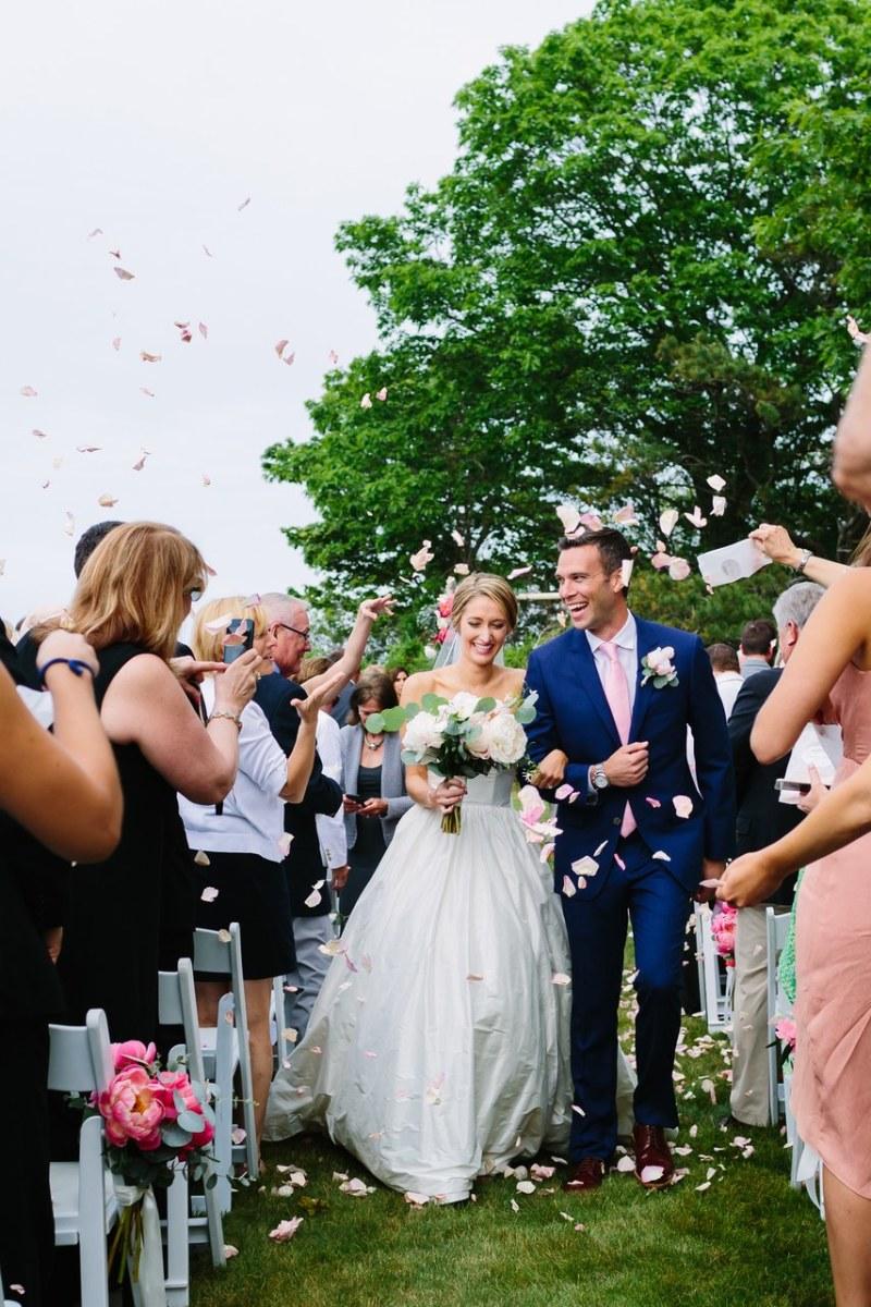 The Emily Black-Favreau and Jon Favreau wedding as featured in 'Brides.' Photo:Rachel Buckley Weddings/Courtesy of Brides