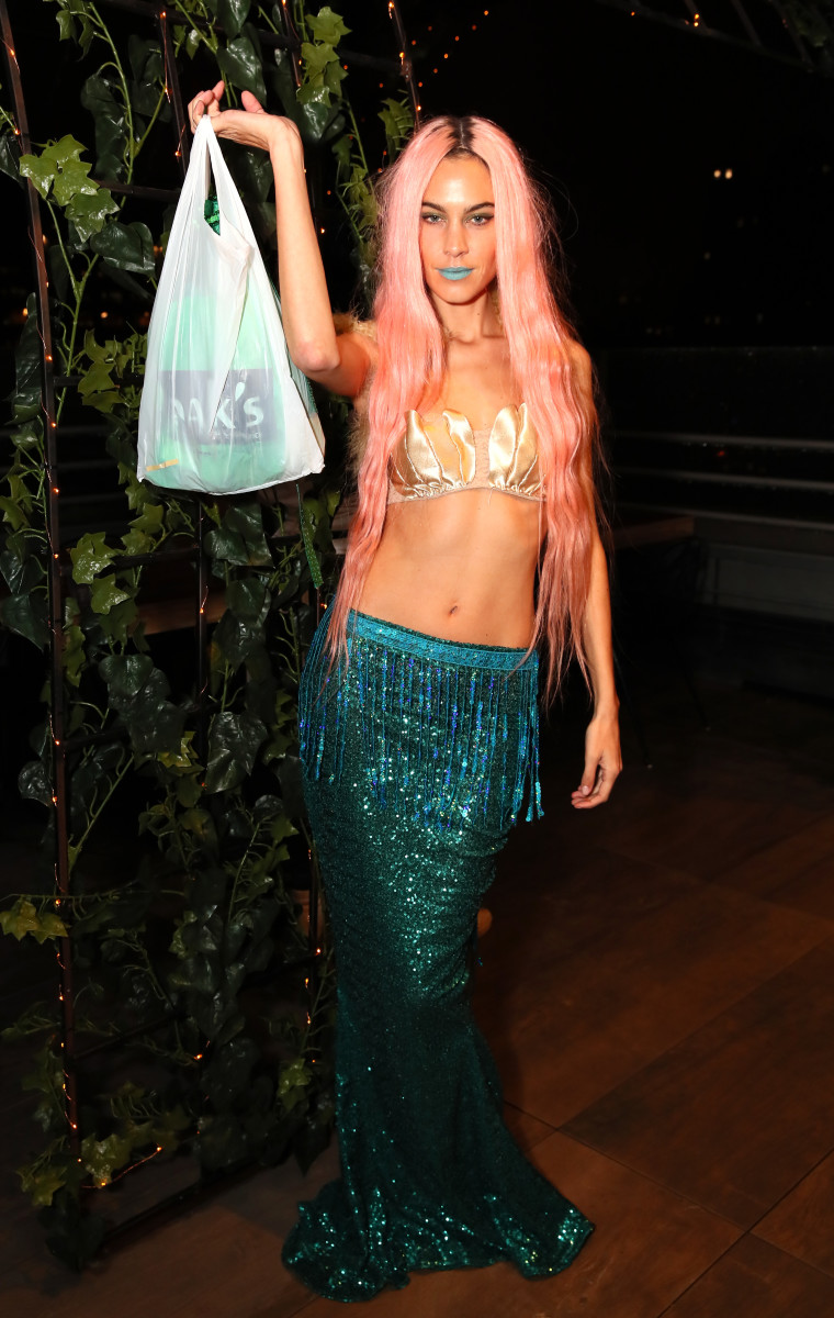 Alexa Chungat The Misshapes Halloween Party in New York City. Photo: Astrid Stawiarz/Getty Images