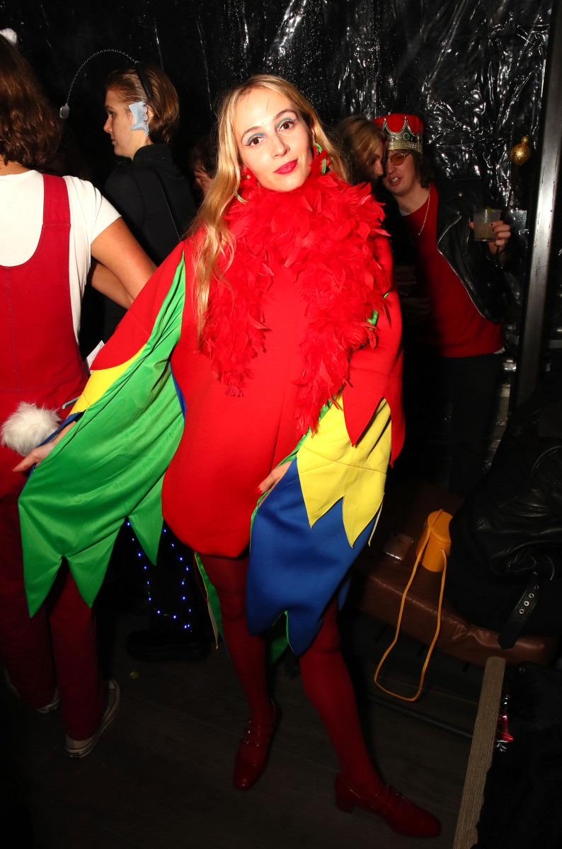 Harley Viera-Newton at The Misshapes Halloween Party in New York City. Photo: Astrid Stawiarz/Getty Images