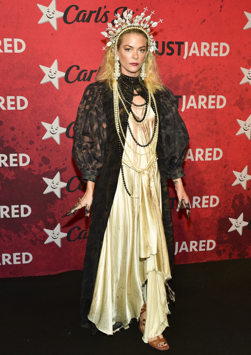 Jaime King at Just Jared's 7th Annual Halloween Party in Los Angeles. Photo: Rodin Eckenroth/Getty Images