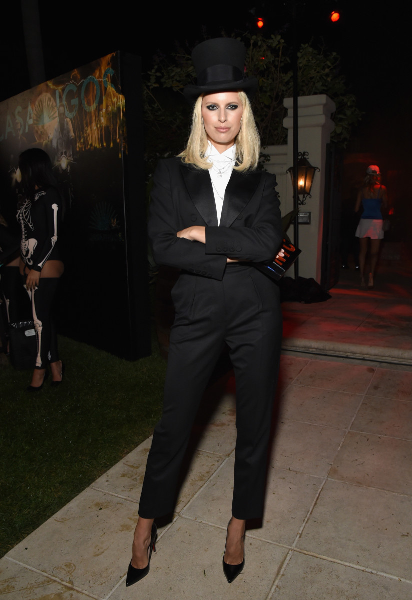 Karolina Kurkova at the Casamigos Halloween Party in Beverly Hills, California. Photo: Michael Kovac/Getty Images