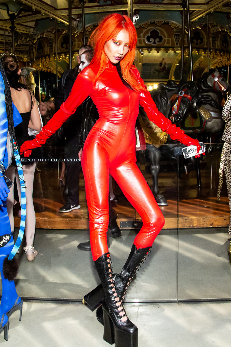 """Soo Joo Parkat the """"V Magazine"""" Halloween Party in New York City. Photo: Courtesy of BFA"""