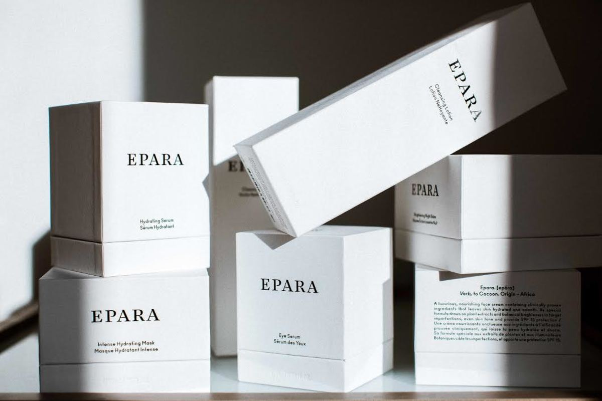 Epara's product lineup. Photo: Courtesy of Epara