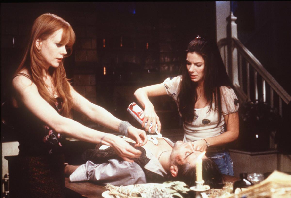 "Nicole Kidman and Sandra Bullock in scene from 1998's ""Practical Magic."" Photo:Warner Bros./Getty Images/Handout"
