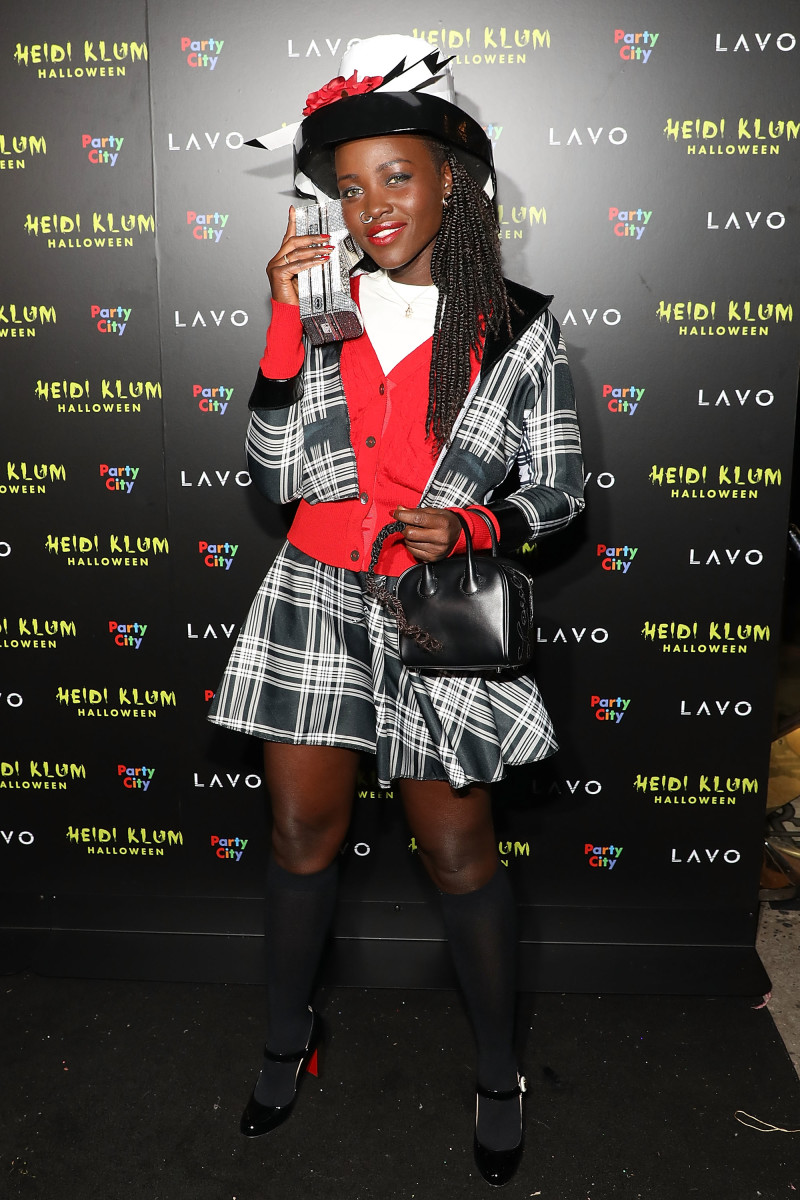 Lupita Nyong'o at Heidi Klum's 19th Annual Halloween Party. Photo: Taylor Hill/FilmMagic