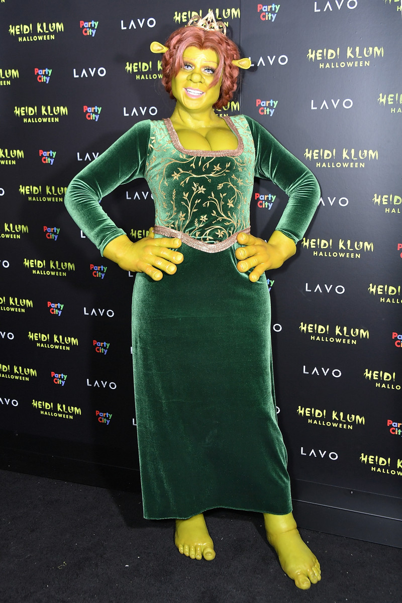 Heidi Klum at her 19th Annual Halloween Party. Photo: Michael Loccisano/Getty Images