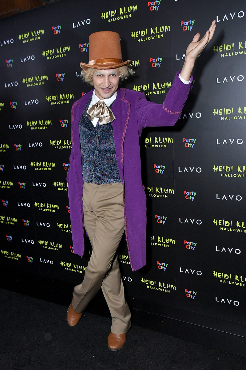 Zac Posen at Heidi Klum's 19th Annual Halloween Party. Photo: Michael Loccisano/Getty Images