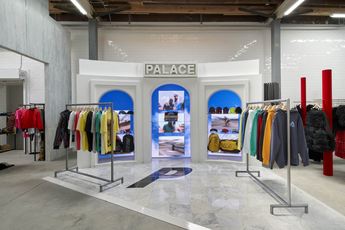 Palace's first West Coast outpost. Photo: Courtesy of Eric Staudenmaier