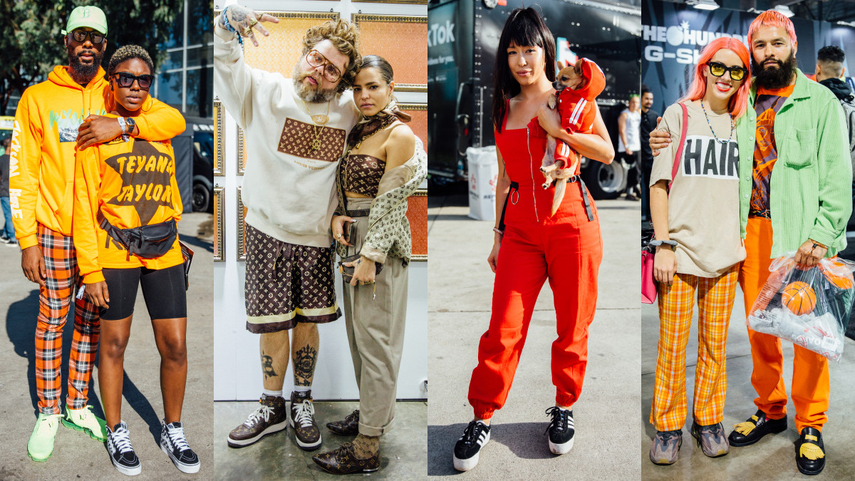 Matching outfits at ComplexCon 2018. Photos: Emily Malan/Fashionista