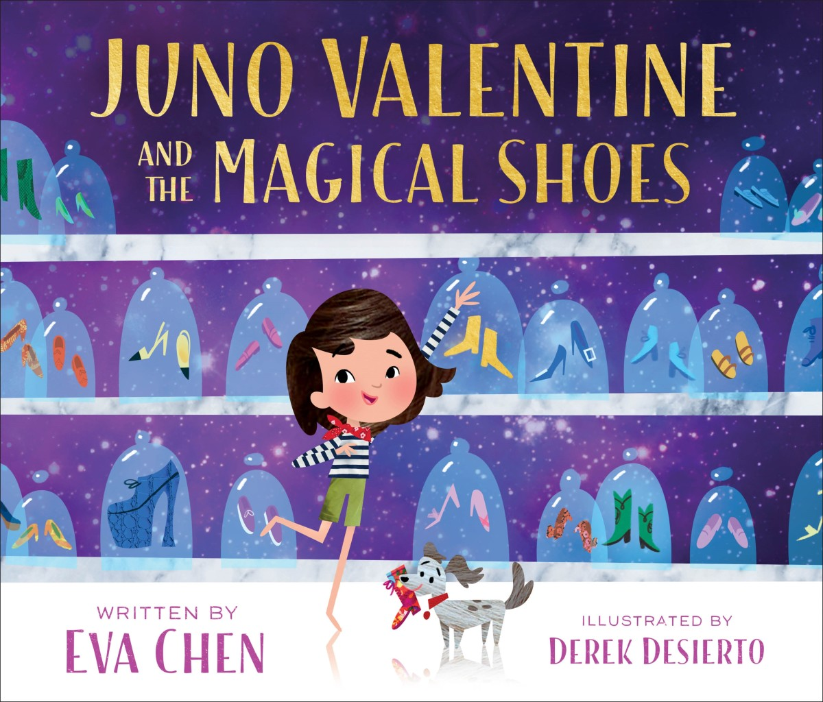 "The cover of ""Juno Valentine and the Magical Shoes,"" by Eva Chen. Photo: Courtesy of Eva Chen"