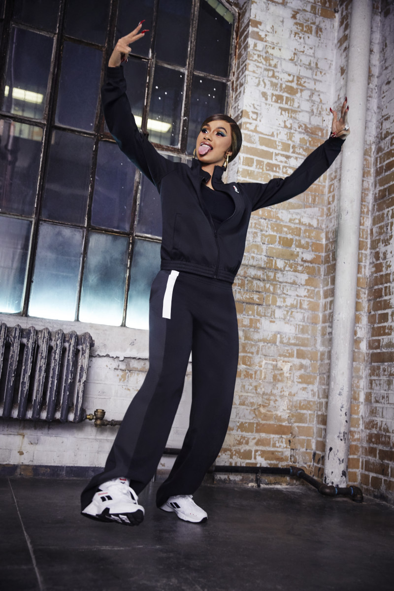 Cardi B for Reebok. Photo: Courtesy of Reebok