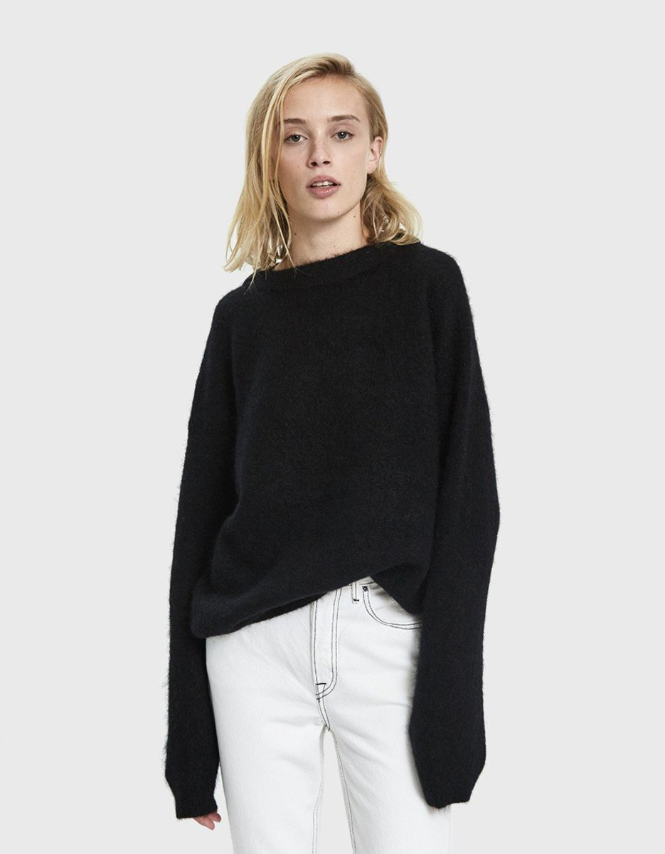 Acne Studios oversize mohair sweater, $340, available here.