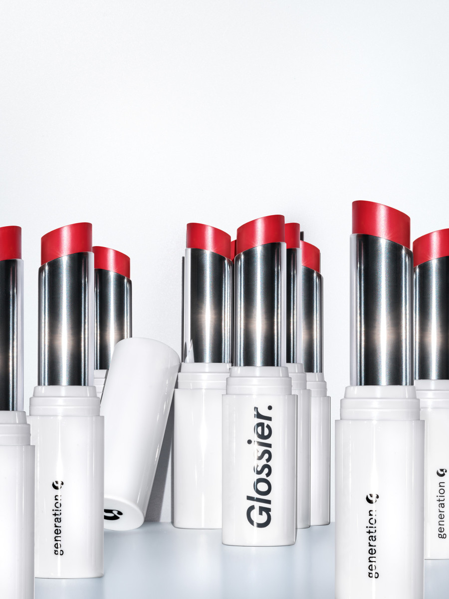 Glossier Generation G lipstick, $18, available here.