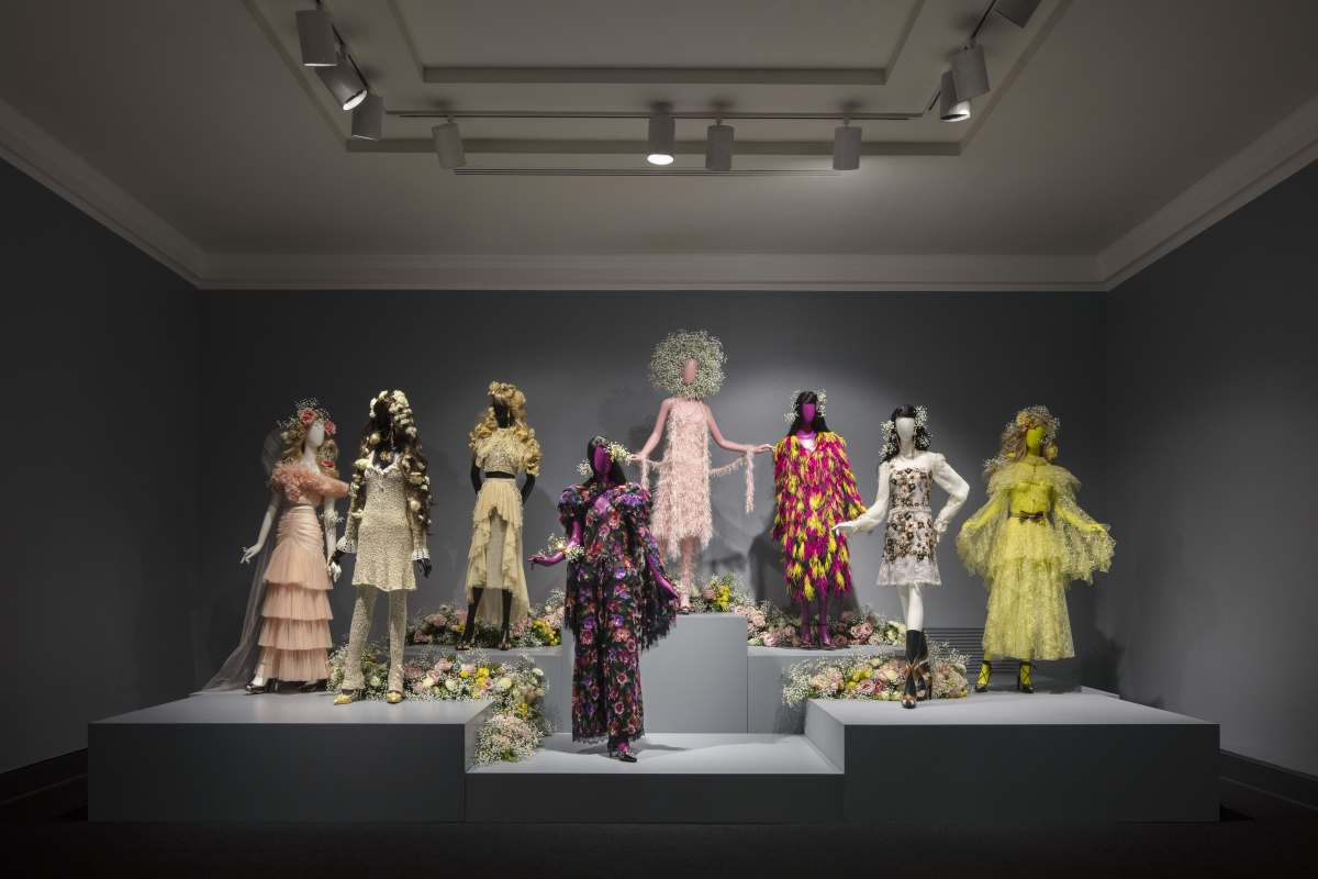 """Rodarte"" exhibition installation view at the National Museum of Women in the Arts in Washington, D.C. Photo: Floto+Warner/Courtesy of Rodarte"
