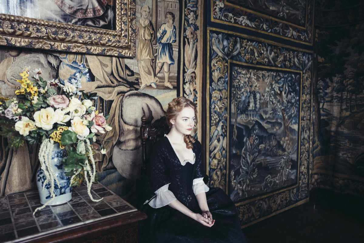 Abigail Hill (Emma Stone). Photo: Yorgos Lanthimos/Twentieth Century Fox Film Corporation
