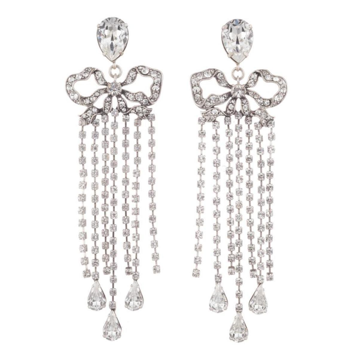 """Dannijo """"Chantel"""" earrings, $245, available here."""