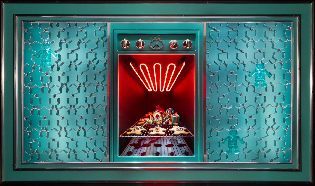 One of Tiffany and Co.'s holiday windows. Photo: Courtesy of Tiffany and Co.