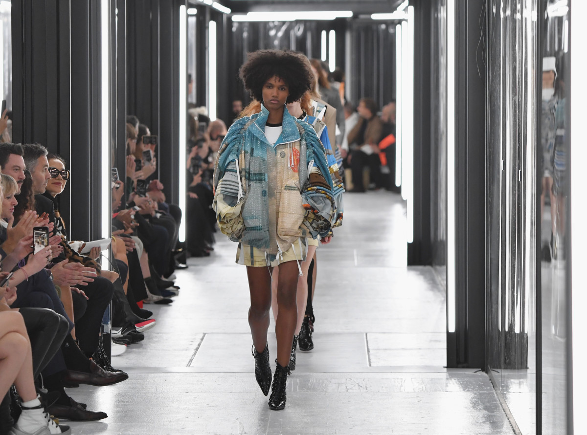 Louis Vuitton's Spring 2019 runway show finale. Photo: Pascal Le Segretain/Getty Images