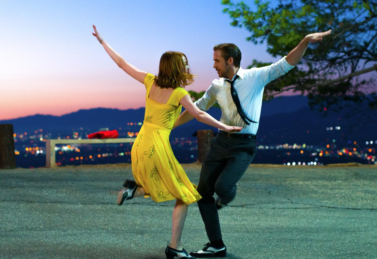 Emma Stone and Ryan Gosling in 'La La Land.' Photo: Dale Robinette/Lionsgate