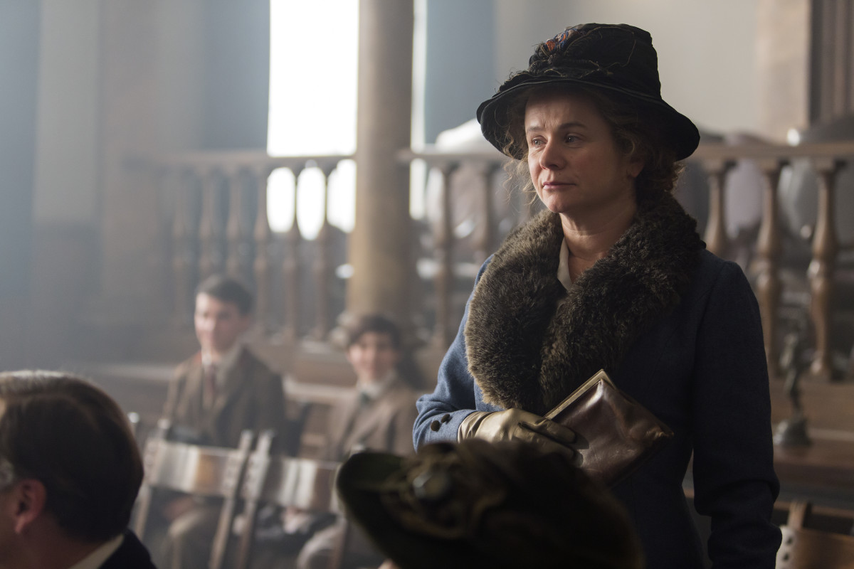 Elsa Einstein (Emily Watson) in 'Genius'. Photo: Courtesy of National Geographic