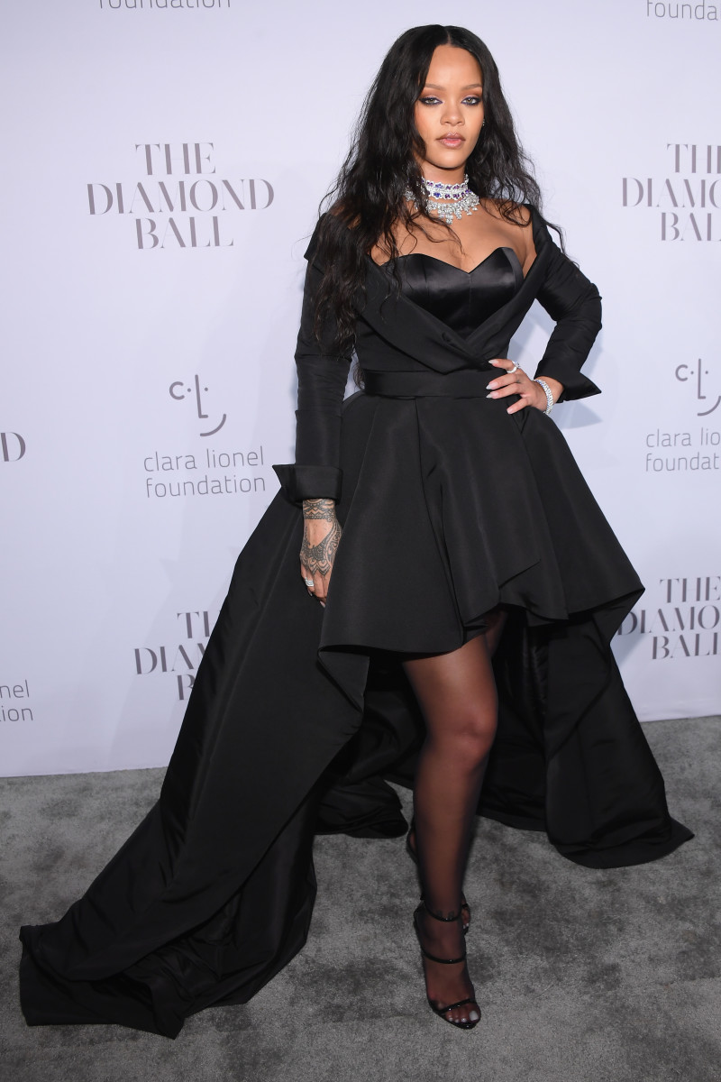 Rihanna at her 3rd annual Diamond Ball benefitting The Clara Lionel Foundation. Photo: Dimitrios Kambouris/Getty Images