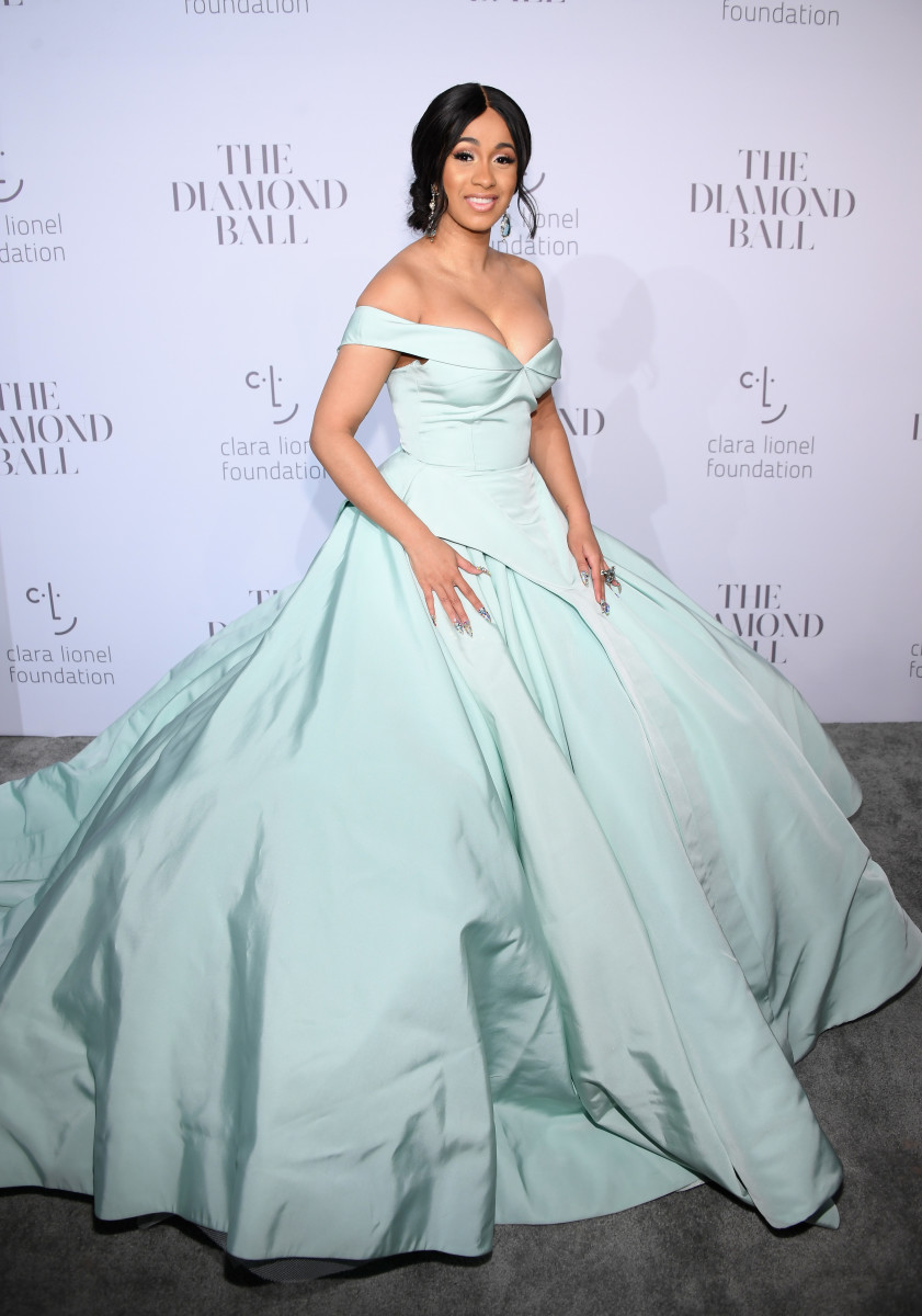 Cardi B at Rihanna's 3rd annual Diamond Ball benefiting The Clara Lionel Foundation. Photo: Dimitrios Kambouris/Getty Images