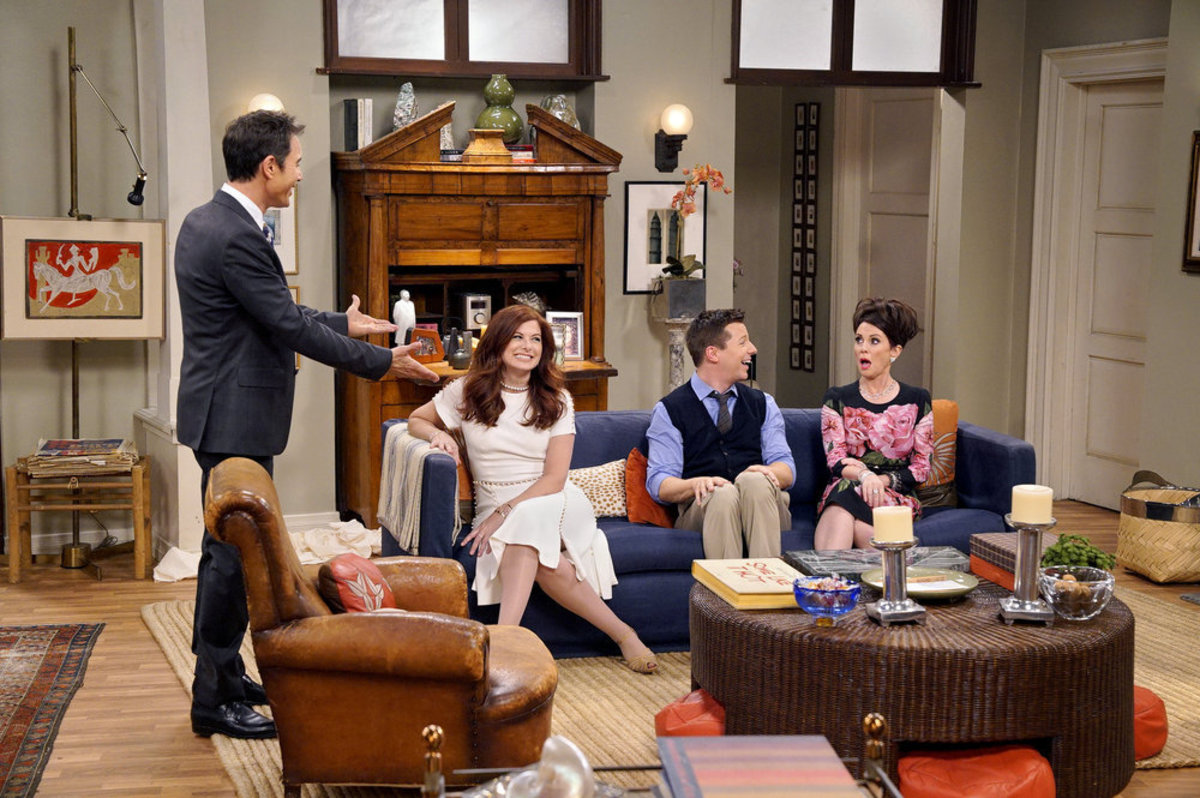 Will (Eric McCormack), Grace (Deborah Messing), Jack (Sean Hayes) and Karen (Megan Mullally). Photo: Chris Haston/NBC)