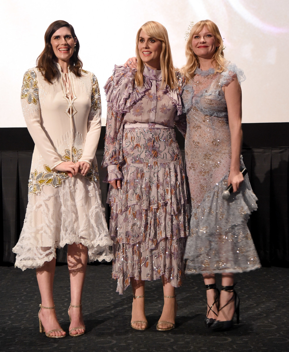 Laura and Kate Mulleavy, Kirsten Dunst. Photo: Courtesy of Forevermark