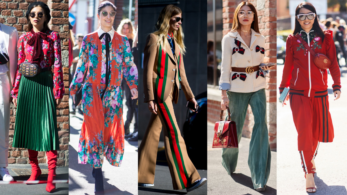 Street Style On Day 1 Of Milan Fashion Week Was All Gucci Everything Fashionista