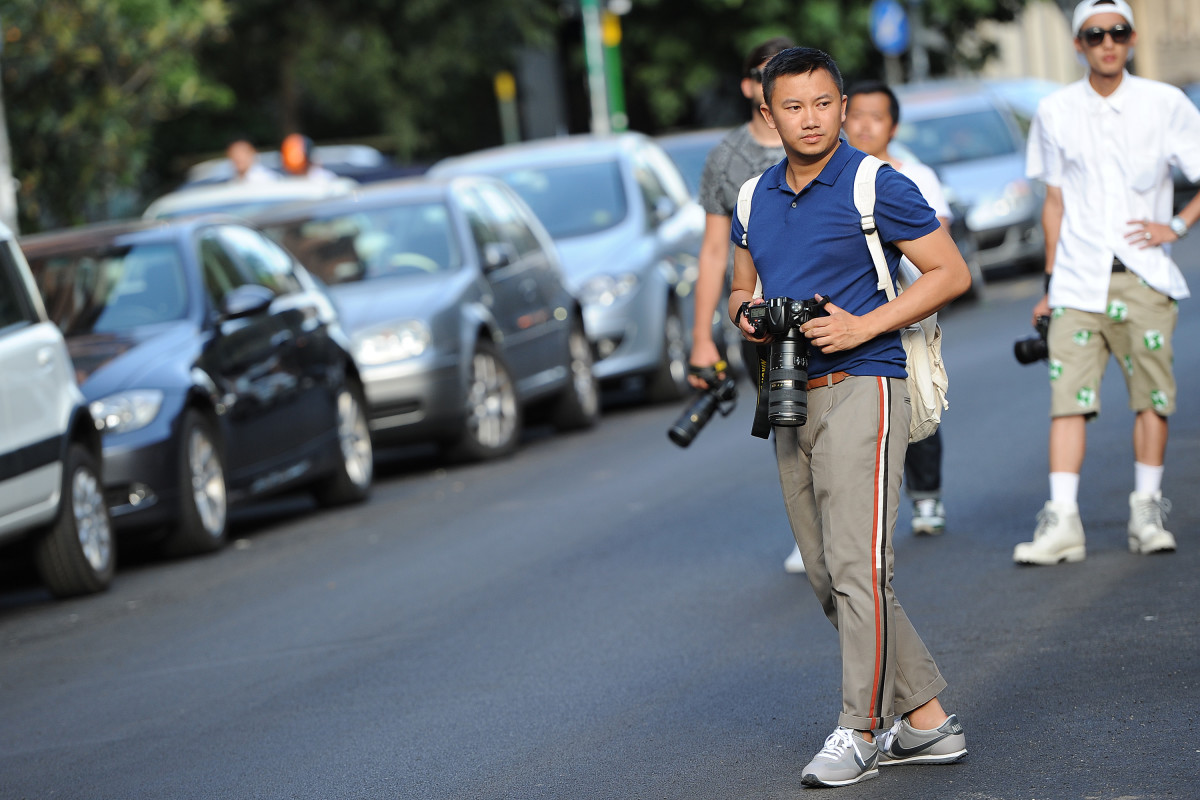Photographer Tommy Ton. Photo: Jacopo Raule/Getty Images