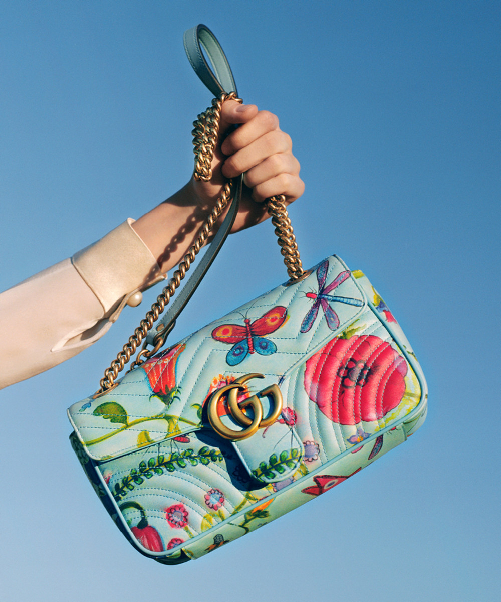 A bag from the Gucci x Unskilled Worker capsule collection. Photo: Gucci